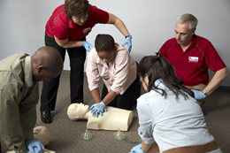 canadian red cross standard first aid test