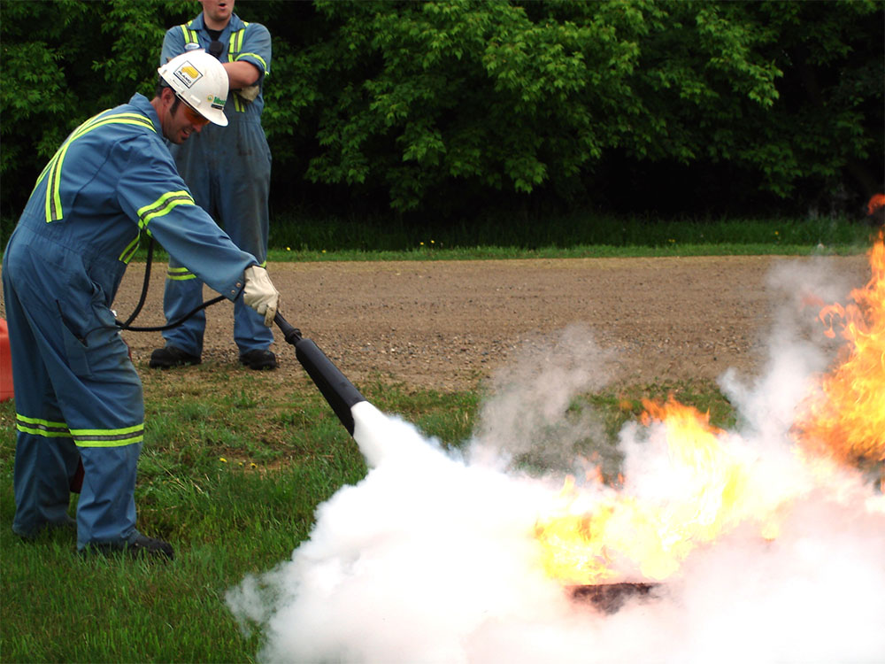 Safety Training-FIRE EXTINGUISHER TRAINING